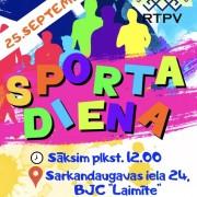 Sporta dienas plakāts